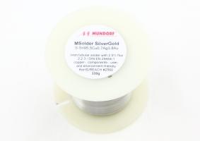 Mundorf Silver/Gold 發燒金銀銲錫 1mm直徑 切售1米