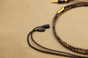 MER IE8, IE80 MKII 耳機專用升級線,德國Mundorf 金銀合金線蕊