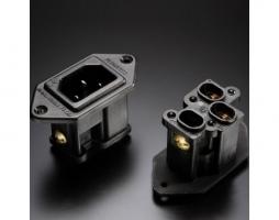 日本 FURUTECH AC 電源座 FI-09(R) 鍍銠版 / 定價 NT:2600