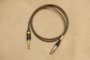 MER-AKG Q701 / K702 Lux MKII 發燒版耳機升級線,德國Mundorf 金銀合金線蕊