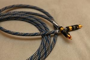TFS/德國Viablue NF-B 發燒重低音專用訊號線,管迷成品線 長度1米