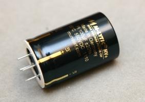 Mundorf 高壓電解電容 MLytic HV+ 100uF/550VDC 新到貨