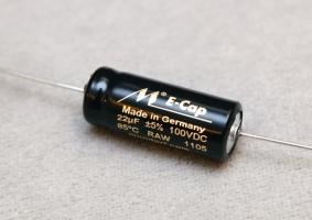 Mundorf E-Cap RAW 無極性電容 22uf/100V