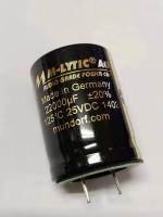 Mundorf 低壓電解電容 MLytic AG 22000uF/25VDC