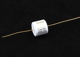MCAP EVO Silver Gold Oil / EVO 金銀箔油浸電容 0.22uf/450V>全新到貨