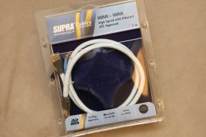 瑞典製造 SUPRA HDMI線 V1.4版本 6米以上長度可訂購,請詢優惠價 / 會員結帳有優惠