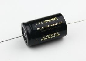Mundorf 高壓電解電容 MLytic HV AL 軸向 100uF/500VDC 會員有優惠價