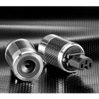 Furutech FI-50M(R) 鍍銠碳纖維電源插頭-公頭,定價NT:9300