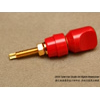 Mundorf OFC-Cooper Gold Plated Binding Post/ Red Color 1pcs