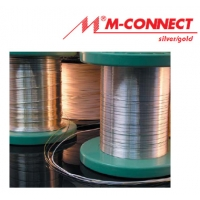 Mundorf supreme 1.5mm純銀含金單蕊線/白色PTFE鐵氟龍外皮/1M